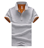 2016 Summer Two colors 100%cotton man clothing polo T-shirt