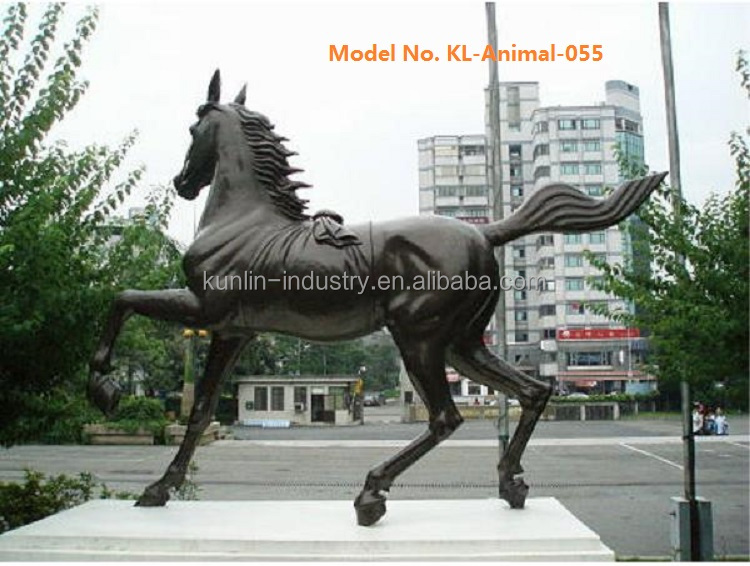 Copper Antique Bronze Horse Statue Sculpture for garden
