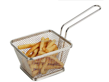 Stainless Steel Rectangular French Fries Frying Strainer
