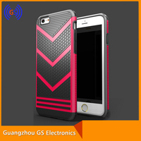 2016 New Style Hybrid Armor Mobile Phone Case For Iphone 5 V Shape 2 in 1