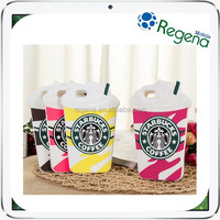 Hot Trending Phone Case Cute Starbucks Mug Case for iPhone 6 Silicone Case