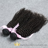 Qingdao Kason Hair Products 2Pcs/lot Virgin Brazilian Kinky Curly Hair Factory Price Wholesale Cheap Brazilian Hair For Sale