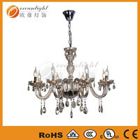 crystal parts for chandeliers trimming,decorative plant indoor grow lights OMG88613-8W