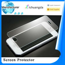 Hot selling! Premium 9H anti-explosion, anti scratch tempered glass screen protector for iphone 4 OEM/ODM!