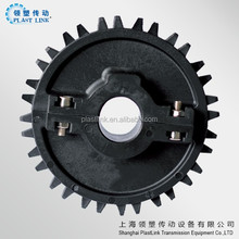 Plast Link 1000 small link chain sprockets for conveyor wheel
