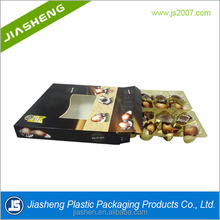 Customized plastic blister chocolate insert tray