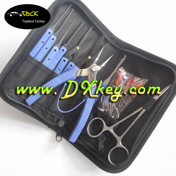 16 sets Broken Key Remove Machine for car door opening kit