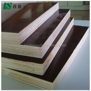 brown film faced plywood used for construction for USA market