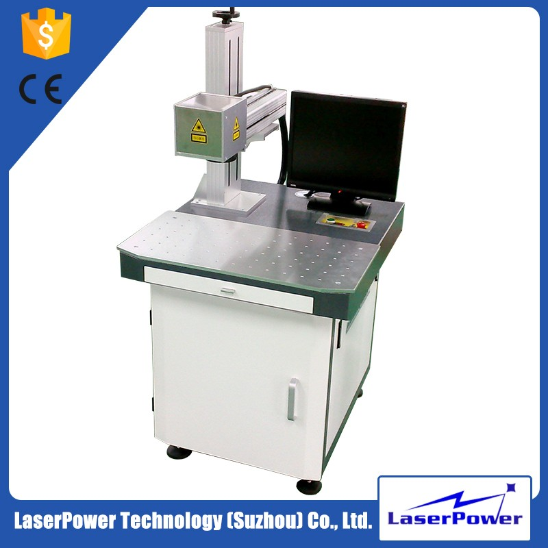 Lowest price PVC ID card laser printing machine For Cable and Electrical Wire