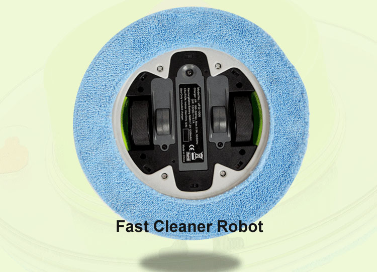 Cheapest Mini Robot Automatic Wet And Dry Mop Cleaner With 247ml Water tank