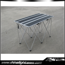 Outdoor movable dj table dj booth table dj speakers table