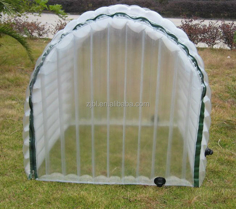 inflatable Plastic mini Winter greenhouse