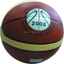 12 panel High quality rubber basketball