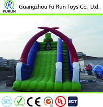 Western Halloween Festival Themed Inflatable Slide For Kids Gifts