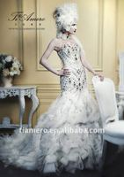2012 Luxurious wedding dress TH1610