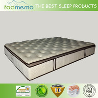 Knitted Fabric spring mattress OEM design pocket spring mattress