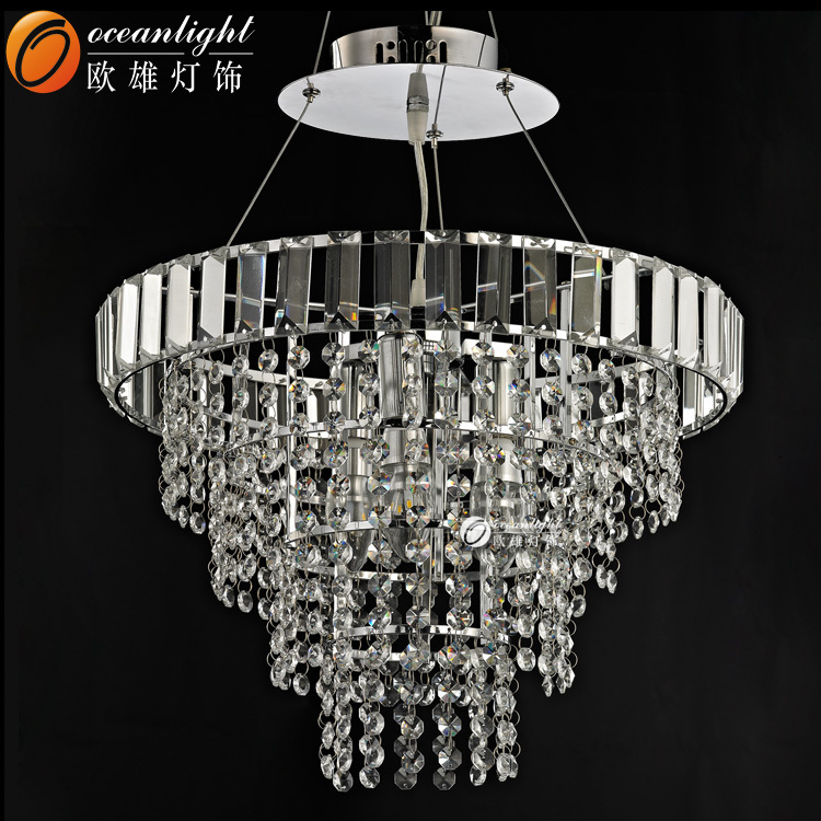 Chinese style Crystal hanging light chandelier lamp,house hanging light fixture OM88418-10