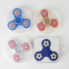 Shenzhen Factory Wholesale Custom High Quality 360 Fidget Spinner Color Print Spinner With Custom Package