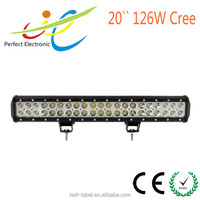 126w led light bar,4x4 led driving light,for ATV/UTV/OFF ROAD CAR/MINING