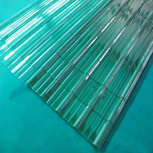 transparent polycarbonate corrugated roofing tile