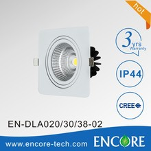 Recessed Rectangular Slim 30W cob LED Downlight Retro fit