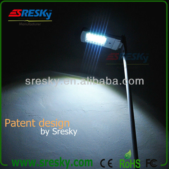 Integrate design waterproof led lam All in one Solar Security light for street,road. pathway.roadway. private road.compus. mall