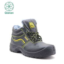 Fashionable Genuine Leather Welding Safety Boots Protective Shoes