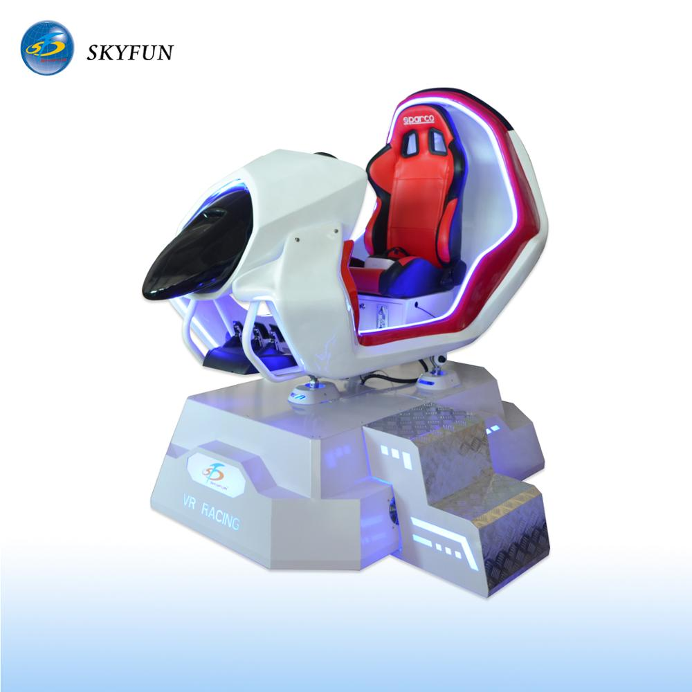 China Best 9d VR Car racing game equipment 9d vr chair go karts for sale