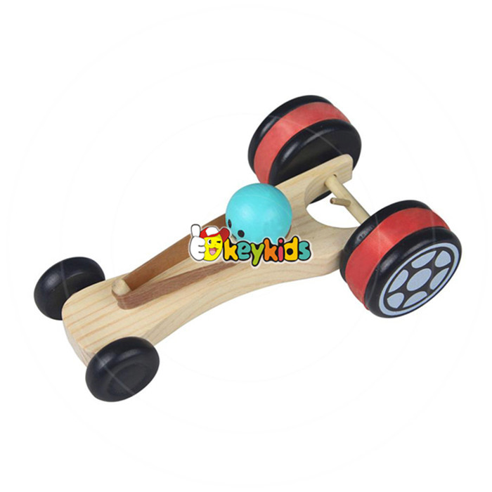 wholesale kids wooden small car toy, cute baby wooden small car toy, superior quality children wooden small car toy W04A065
