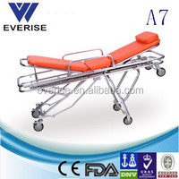 vice adjustable medical automatic loading stretcher