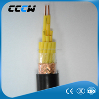 Polyolefin / PVC /XLPE insulated shielded PVC sheathed control cable