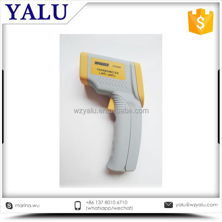 Cost price 2017 promotional portable one second measure infrared thermometer