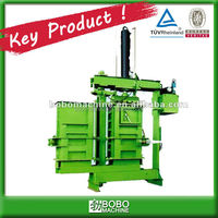 DOUBLE CHAMBER USED CLOTHING BALING MACHINE