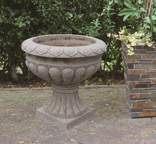 Hot vente ext rieure plante d corative pot grande pierre for Plante decorative jardin