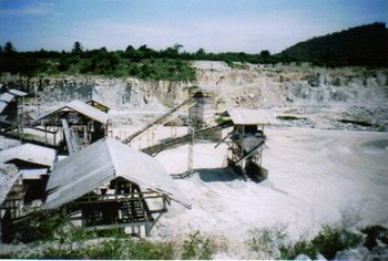 Granite Quarry Dust
