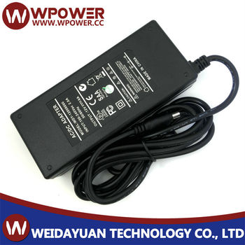 96W Power Supply 12V 8A AC DC Adapter with CE FCC SAA C-Tick RoHS UL certificates