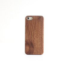 A086 New Coming PC Wood Case For Iphone 5