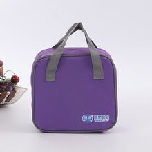 China 420D polyester picnic insulated lunch boxes for adults, cooler bags for food
