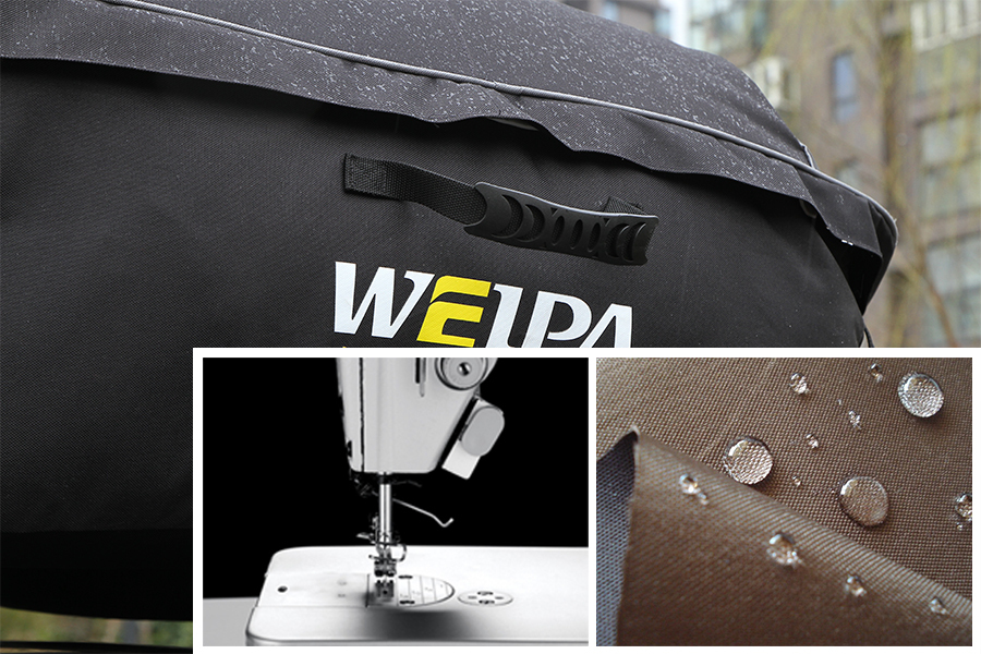 Good quality Manufacturer Waterproof Car roof bag