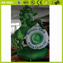 2015 giant inflatable horse racing / inflatable jumping horse