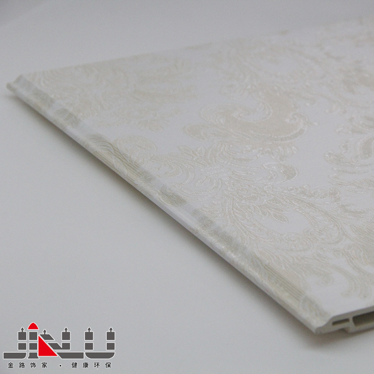 PVC laminated Gypsum Ceiling Tiles for Home Interior Wall Decoration Design