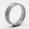 Simple titanium wedding band flat titanium ring blanks for men