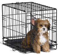 "alibaba website com 48"" Folding Pet Crate Kennel Wire Cage Cats or Rabbits"