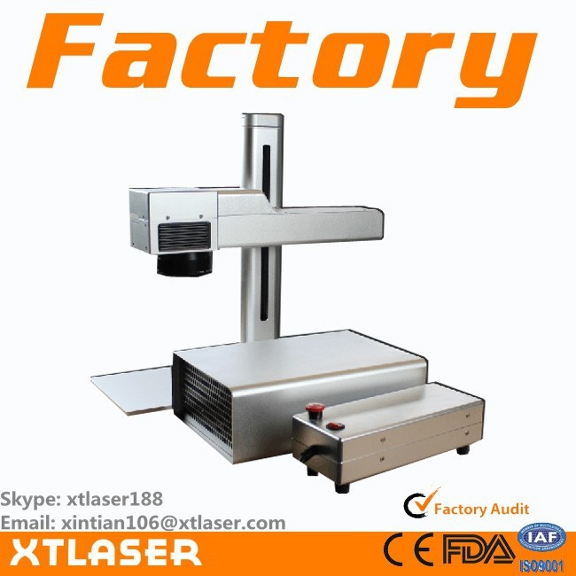 Iphone case fiber laser making machine, 20W IPG fiber laser marking machine, china cheap fiber laser marking machine