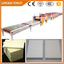mgo fireproof material full automatic magnesium board production line