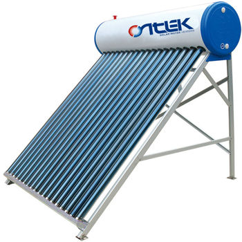color coated steel nonpressure solar water heater, evacuated tubes solar collector ,solar system for hot water
