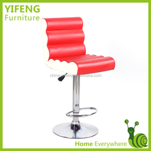 High Quality Revolving Chromed Bar Stool In China(factory manufacturer)