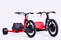 Electric 1000w Tricycle 3 Wheel Seat Trike/petrol Cargo Bike