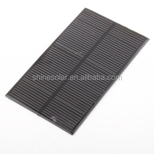 1.5w Solar Power Panel Poly Module DIY Small Cell Charger For Light Battery Phone Toy Portable