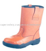 LEATHER RIGGER SAFETY SHOES (SSS-1014)